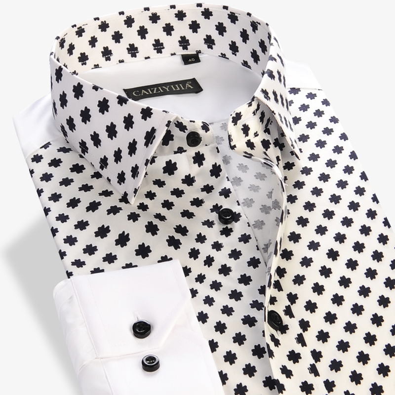 Mens Floral Print Shirts New 2015 Long-Sleeve Square Collar Soft Casual Slim Fit Shirt 100% Cotton Patchwork Thin Men ClothesОдежда и ак�е��уары<br><br><br>Aliexpress