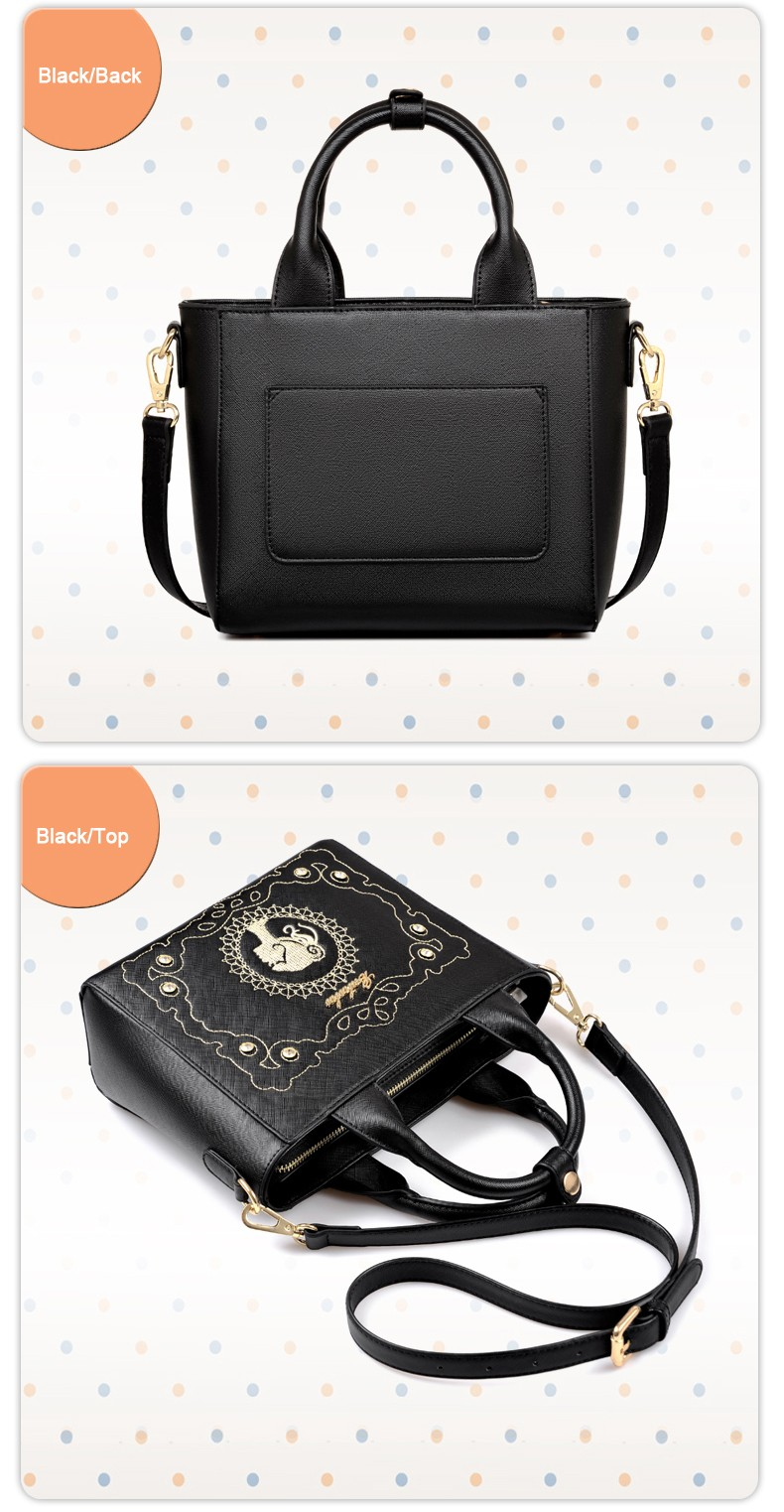 Famous Brand Ladies Designer Retro Hand Bag Beauty Embroidered Rhinestone Classy Handbag Women Newest Trendy Shoulder Bag