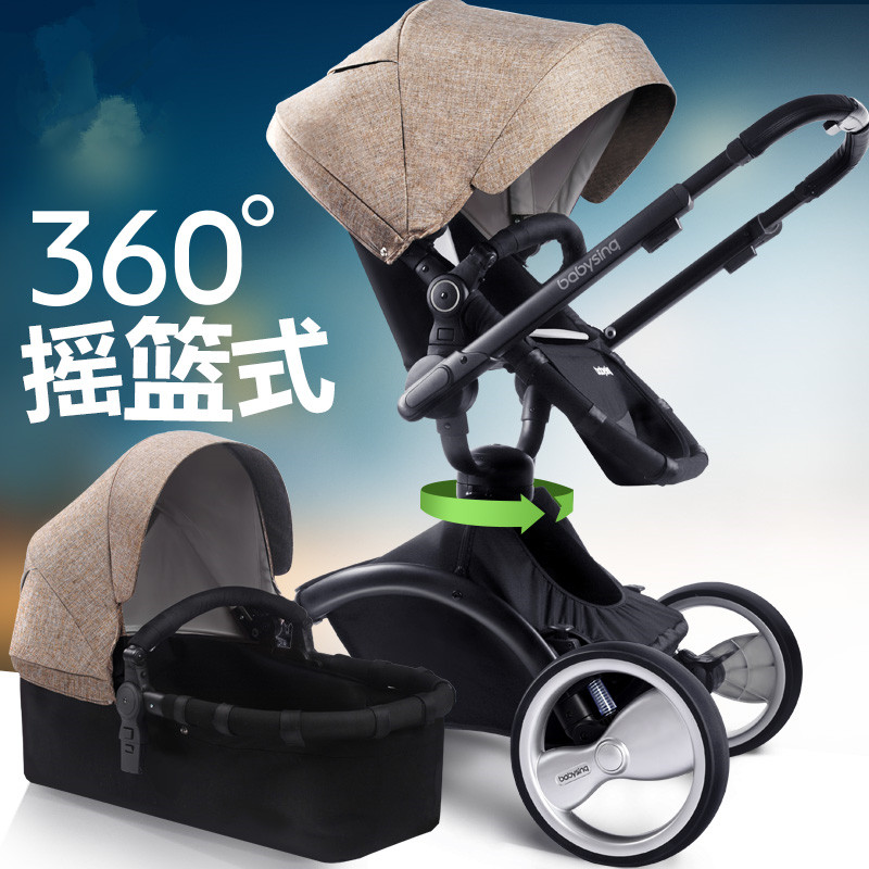 Travel Folding Baby Stroller,Can Rotate Baby Stroller Carriage Strollers,Reversible Trolley For Baby,Protable Fashion Buggy Pram<br><br>Aliexpress