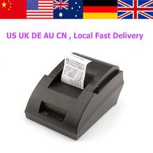 58mm black USB interface thermal receipt printer thermal bill printer pos printer(China (Mainland))