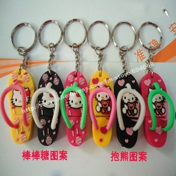 16GB 2010 new cute slippers USB disk,best Christmas gift
