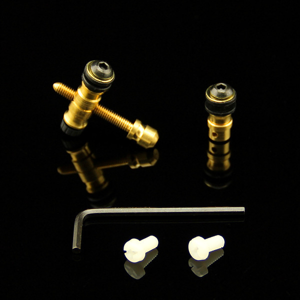 Tattoo Screws 3sets Coil Tattoo Machine Parts Brass Front Rear Contact Binding Post ...