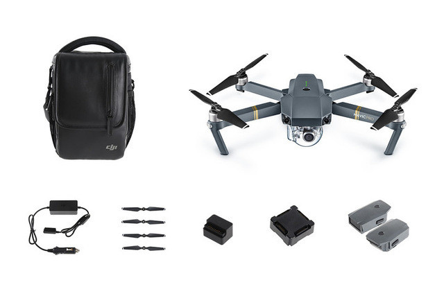 DJI Mavic pro ( 3 batteries included) Mavic Pro Fly More combo