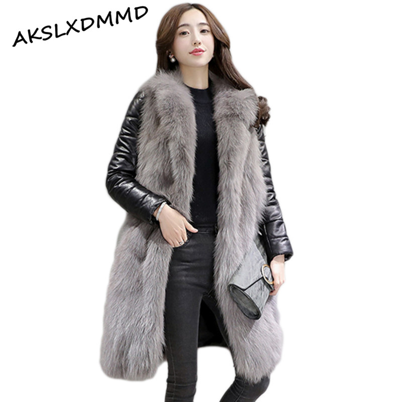Online Buy Wholesale fur coats with leather sleeves from China fur