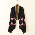 Pro Brand Poncho Women s Winter Chic Tassel Fringe Vintage Blanket Scarves Lady Warm Wrap Shawl