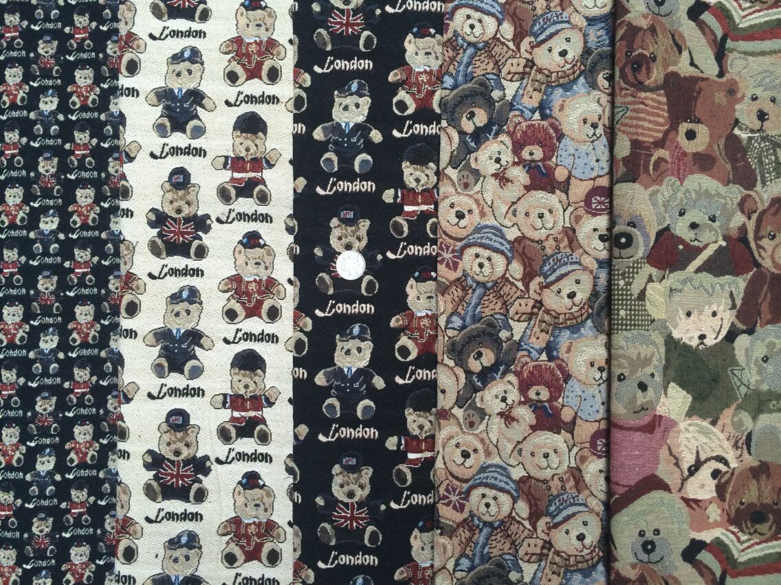 1 meter poly cotton fabric for sewing zakka tecido patchwork fabric handmade ethnic fabric jacquard tablecloth decoration fabric(China (Mainland))