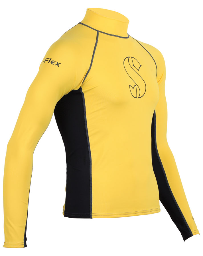 Scubapro T flex Long Sleeve Rash Guard UPF-80 for Outdoor Water Sports Swimming Diving(China (Mainland))