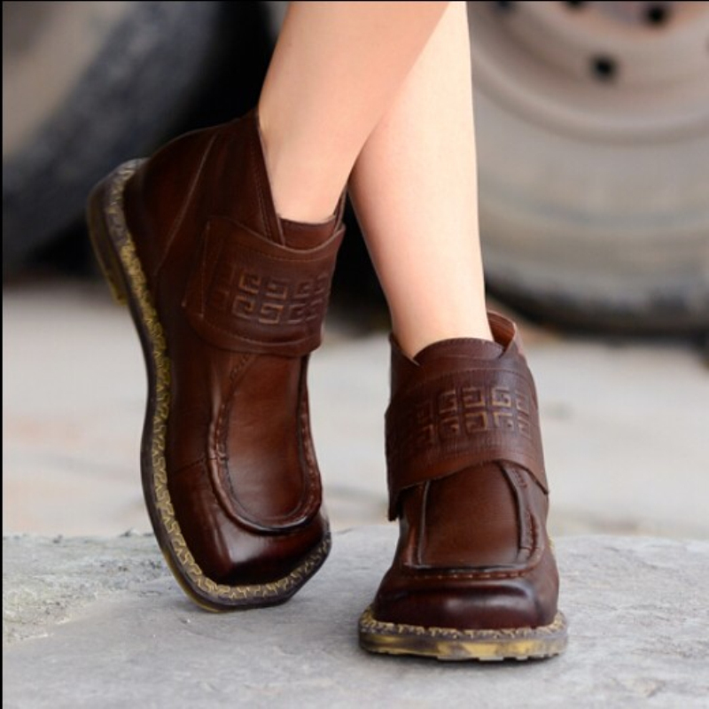 high quality handmade shoes classical square