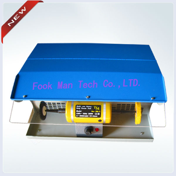 goldsmith hot sale mini table polisher ,jewelry Polishing motor with Dust Collector(China (Mainland))