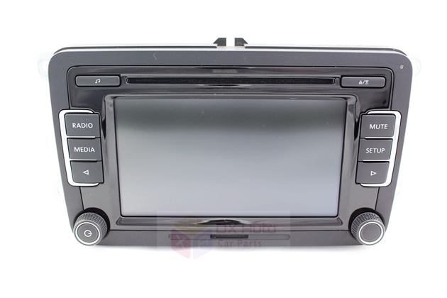VW RCD510 Only For Russian Buyers Free Shipping For VW Volkswagen with USB Cable/Code/Support RVC/OPS/ iPod/ Bluetooth(China (Mainland))