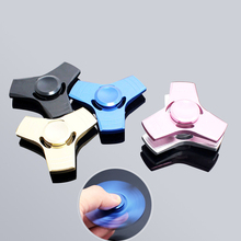 Buy 2017 New EDC Tri-Spinner Fidget Toys Pattern Hand Spinner Metal Fidget Spinner ADHD Adults Children Educational Toys Hobbies for $6.74 in AliExpress store