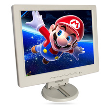 "12"" LCD monitor, Resolution 800*600, TN panel can be used as desktop Computer display, can be used in the car as car TV white(China (Mainland))"