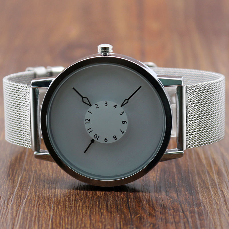 Paidu Watch Men Watches 3 Style Mesh Band Wrist Watch Relogio Regarder
