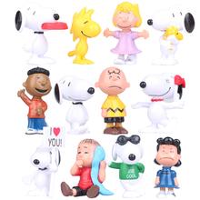 12pcs/set 5-6cm New Anime Cartoon snp Figures PVC action Figure Toys Model Dolls kids new year Gift