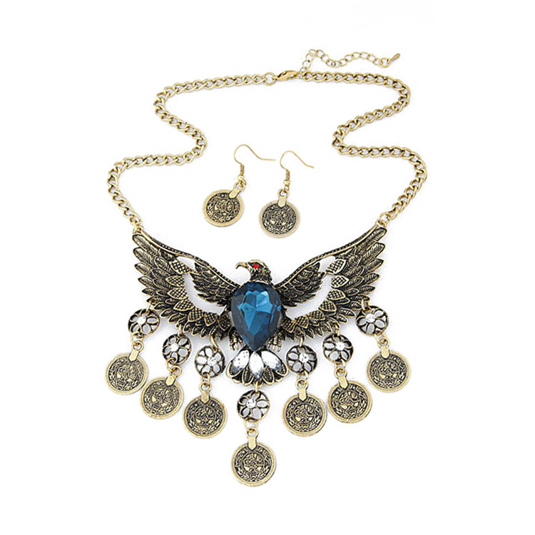2016 fancy albanian eagle necklace pendant necklace three