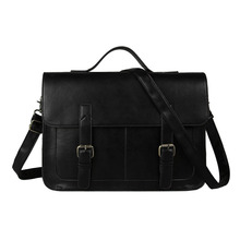 2016 New European Style Document File Vintage Men Messenger Bags Tote Elegant Men's Briefcases Office Men's Crossbody Bags(China (Mainland))