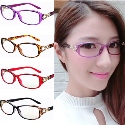 new oval rectangle light weight women stylish flower eyeglasses frame moderen spectacles metal decoration frames lady