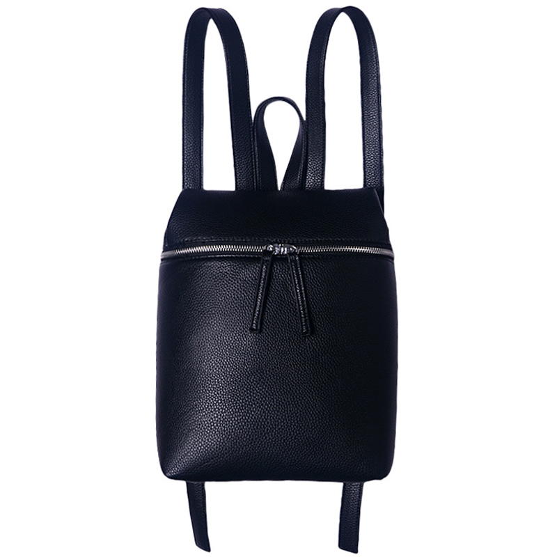 Simple Style Designer Petit Sac À Dos Femmes Blanc et Noir Voyage PU Dames En Cuir Sacs À Dos De Mode Sac À Dos Femelle sac XJ276(China (Mainland))
