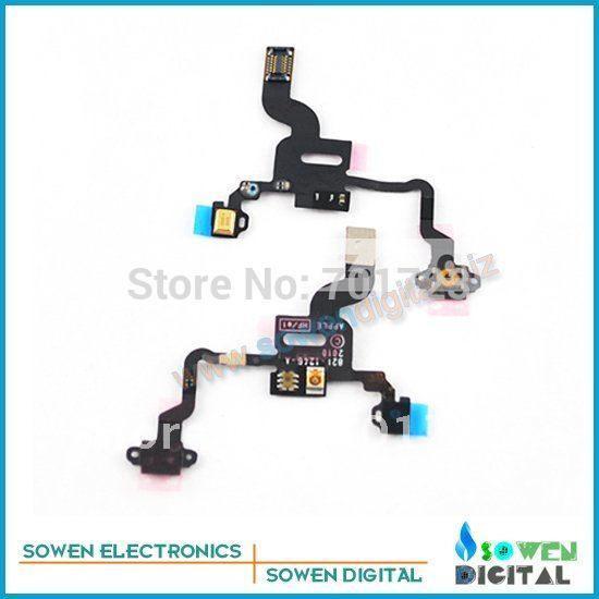 For iphone 4G camera flex cables on off flex cable sensor flex +FREE shipping+best quality+wholesaler or retail