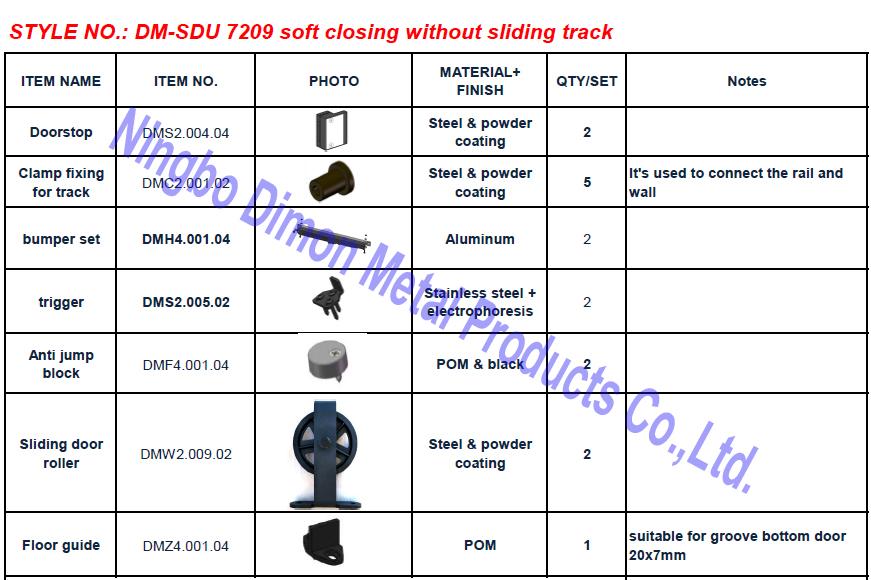 7209 soft close