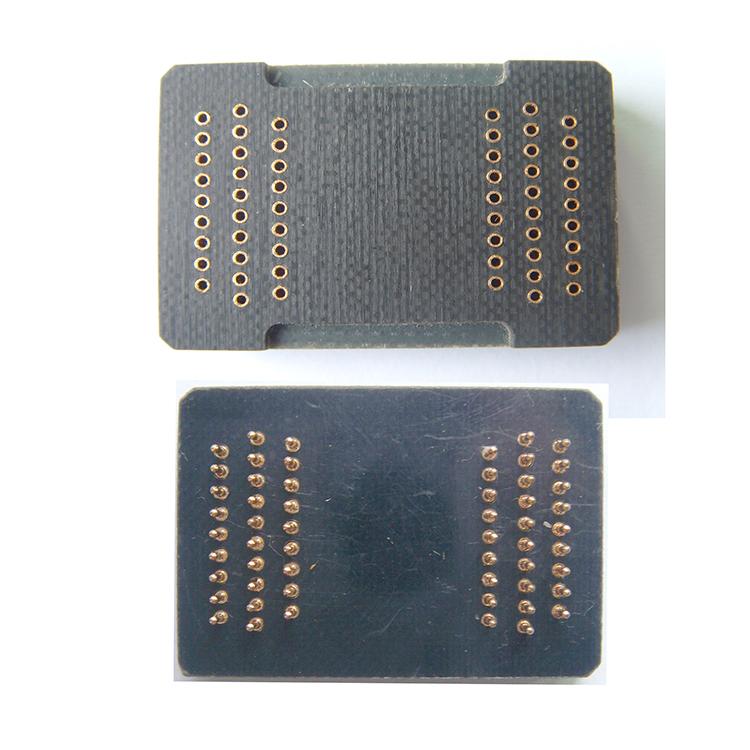 Pin Board TSOP56 Interposer Board 56 pins Receptacle Pin Adapter Plate Burn in Socket Plug pin