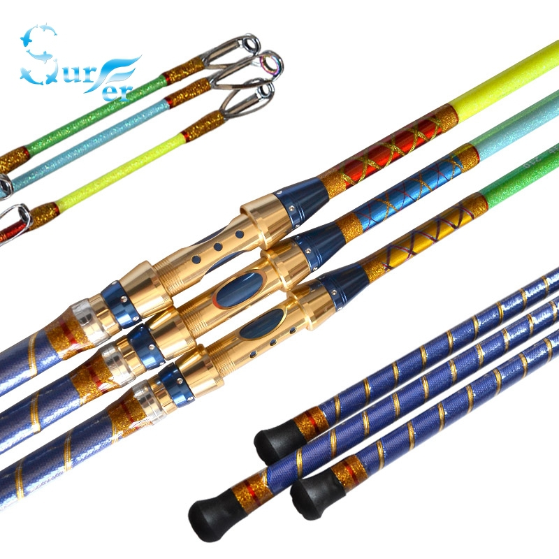 Super power jigging boat trolling fishing rod pole 2 1m 2 Trolls fishing pole