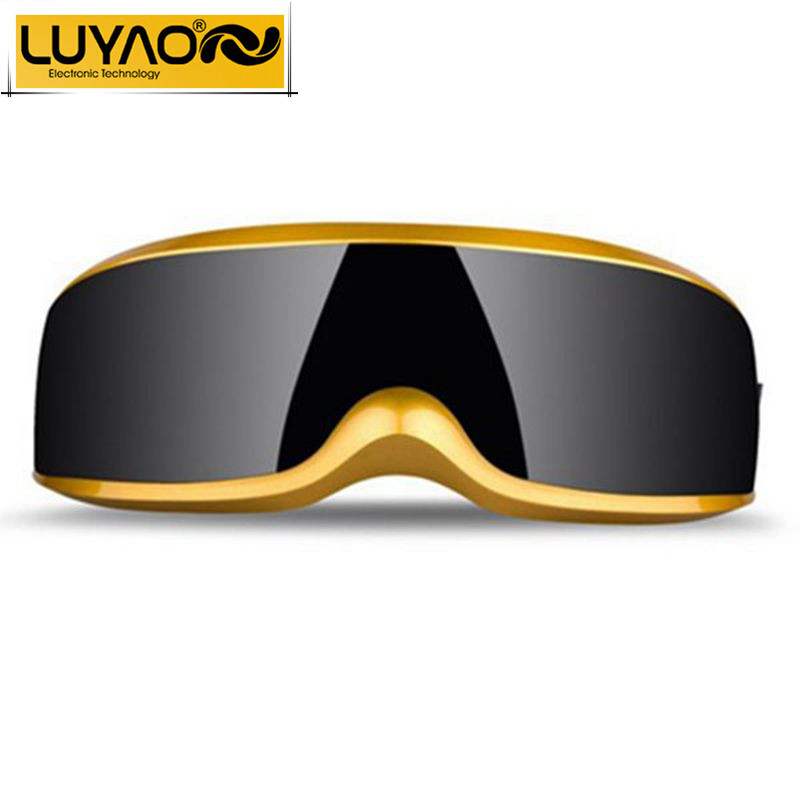 LUYAO Fashion USB Mini Head Eye massager.Electric Vibration Magnetic therapy acupuncture eye massager glasses.Dispel eye bags(China (Mainland))