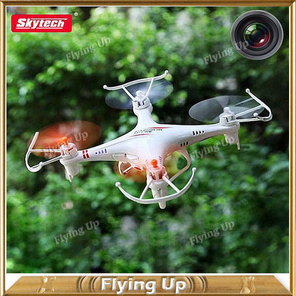 Winter New Arrival Camera Drone Skytech M62R RC Quadcopter 4-CH 2.4GHz Remote Control Toys for Kids HD FPV Camera Helicopter(China (Mainland))