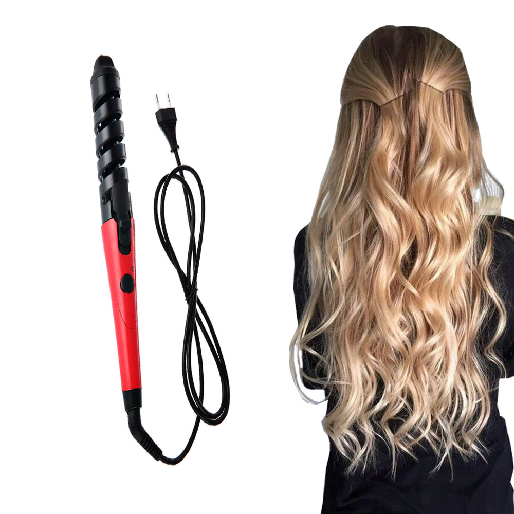 Salon Electric Magic Hair Styling Tool Rizador De Pelo Hair Curler Roller Pro Spiral Curling Iron Roller Styling Tool Hair Care(China (Mainland))