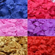 Wholesale 100pcs/lot Wedding Decorations Fashion Atificial Flowers Polyester Wedding Rose Petals patal(China (Mainland))