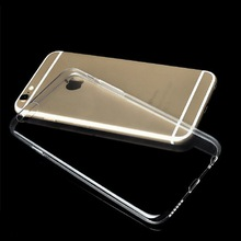 onepcs for iPhone 6 plus 6S plus TPU Soft clear Case ultra lightweight 4g thin 0.3mm Transparent cover mobile phone bag