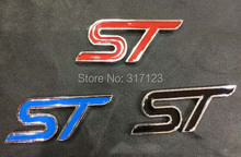 20pieces/lot 3D Metal Alloy ST emblem badges