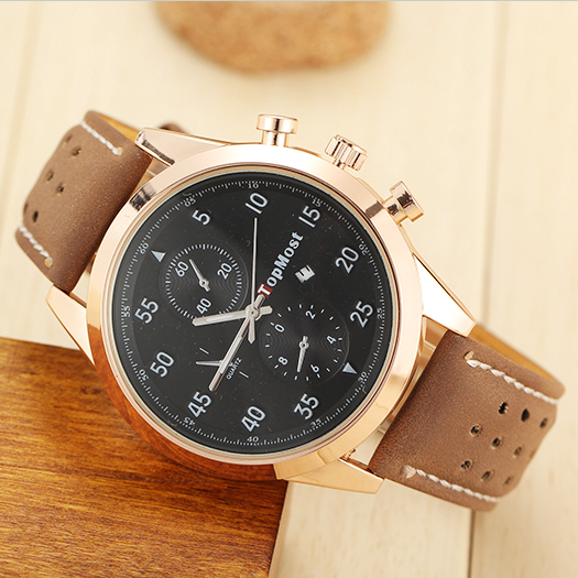 The new 2015 hit, men casual watch, the atmosphere of the trend, luxury men's watch, quartz watch business brand, outdoor sports(China (Mainland))