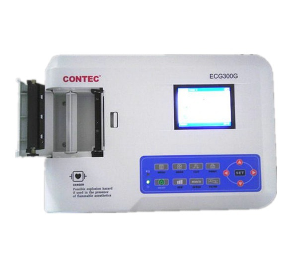 Professional CE Approved 3 Channels ECG / EKG Machine with Printer and Paper and USB Software<br><br>Aliexpress