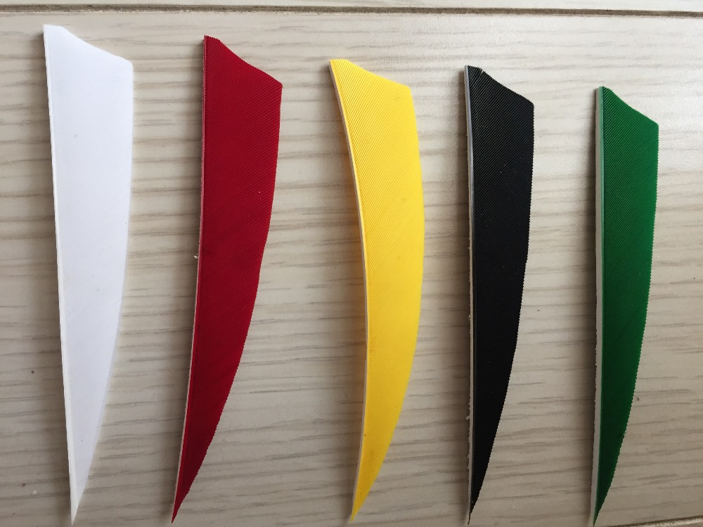 300pcs lot Archery accessory bow and arrow Feather Arrow parts Turkey arrow feather high quality