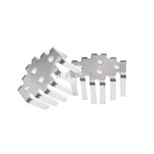 Free Shipping: 3DD15D heatsink / aluminum fins / TO-3 / gold seal transistor radiator(China (Mainland))