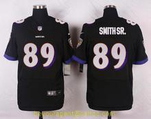 Men's free shiping A+++ quality Baltimore Ravens #89 Steve Smith Sr Elite(China (Mainland))