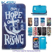Buy IKASEFU Galaxy J510 J5, 2016 Leather Silicone Case Samsung J5 2016 Coque Stand Wallet Flip Cover Card Slot Fundas for $3.46 in AliExpress store