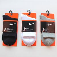 male socks 100% cotton knee-high basketball socks sports socks autumn and winter thick