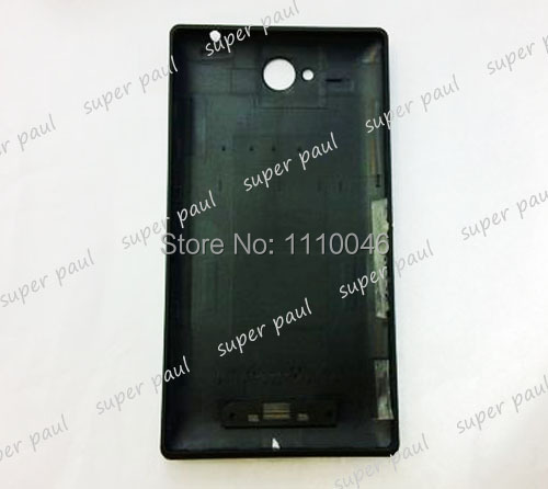New Rear Housing Parts Case For Sony Xperia C S39h C2305 Battery Door Back Cover 5PCS/LOT free ship(China (Mainland))
