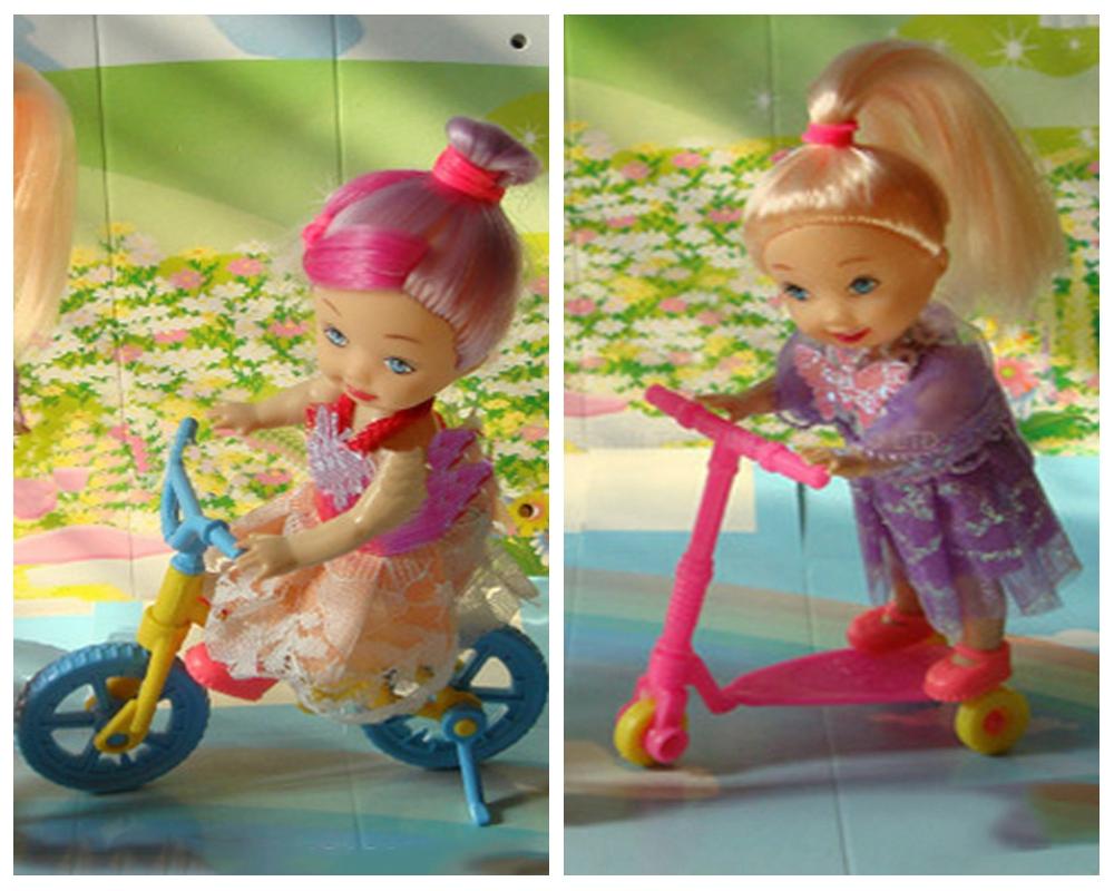 Online kopen wholesale poppenhuis fiets uit china for Poppenhuis voor barbie