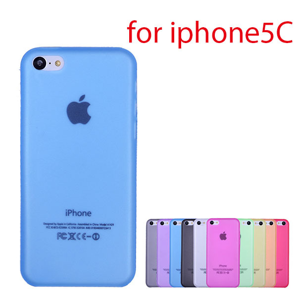 5C frosted Plastic Mobile phone case UltraThin Neoprene hard back Cover for Apple iphone fundas pure color capinhas capa para(China (Mainland))