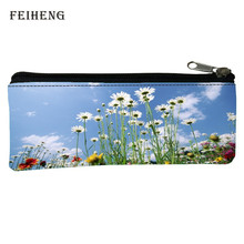 Retail 2016 Fashion Oxford 100% Prints Fresh Children Gifts Black Pencil Bags for Teenagers Coin Purses Baby Girls(China (Mainland))
