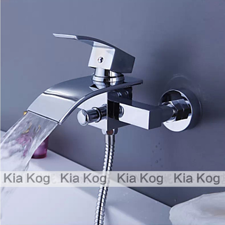 ... Faucet-Waterfall-Shower-Set-hand-hold-Shower-Head-and-Faucet-Bathtub