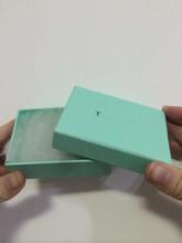 Ювелирные изделия маркой пакет logo штамп зеленый цвет отмечены nice 925 серебро ювелирные изделия подарок сумка / мешок TB01