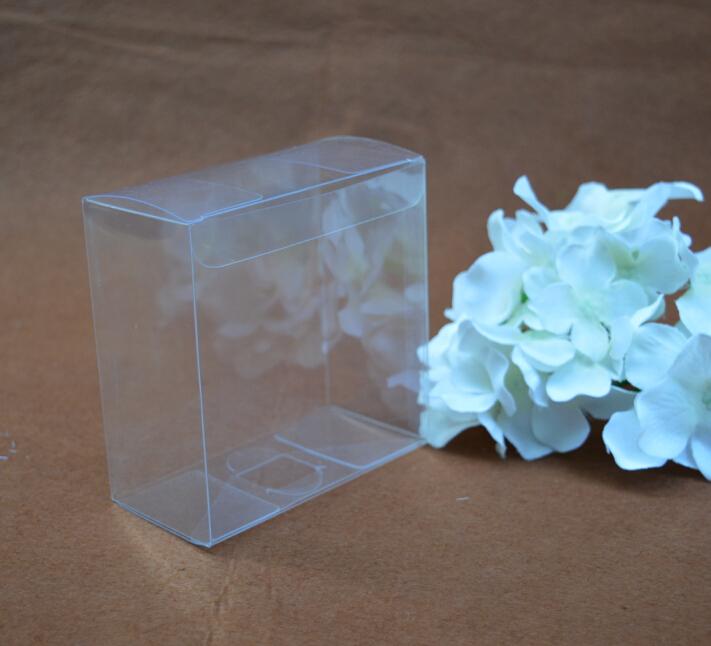 9*11*13CM pvc clear transparent box , wedding gift packaging pvc plastic box , pvc square box for wedding candy(China (Mainland))