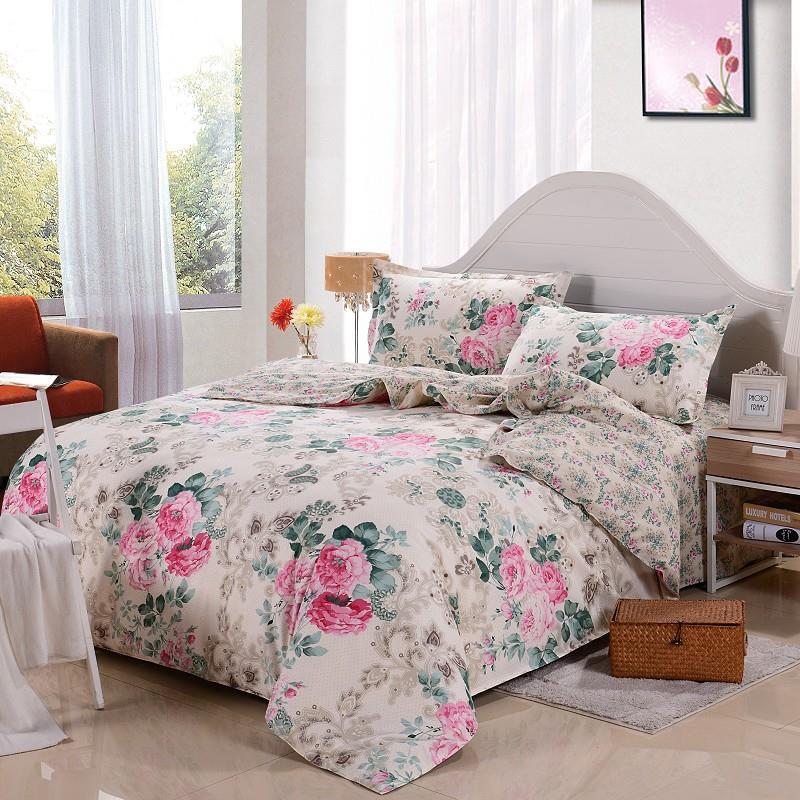 new hello kitty bedding set 4pcs cotton bed linen sets