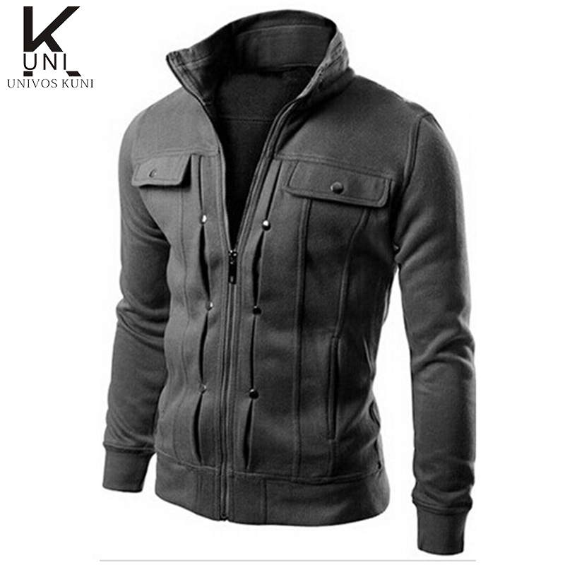 2015 Brand Mens Hoodies And Sweatshirts Tracksuits Solid Fashion Hoodie Zipper Design Tracksuit Men's Sportswear Winter FHY40(China (Mainland))