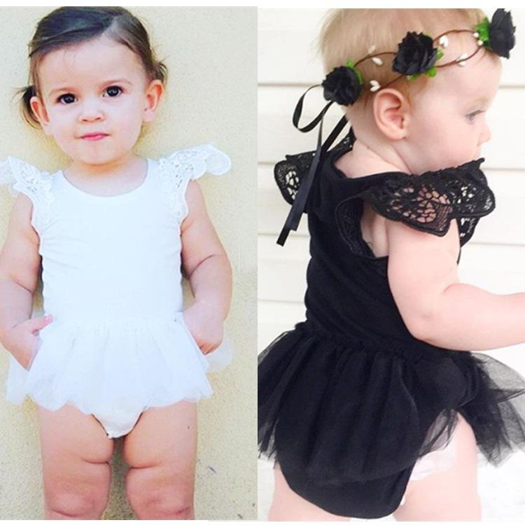 0~2y Newborn Baby Girl Lace Boy Bodysuit infantil Bebe Clothes Vetement Bebe Garcon Enfant Ropa Bebe Recien Nacido Onesie(China (Mainland))
