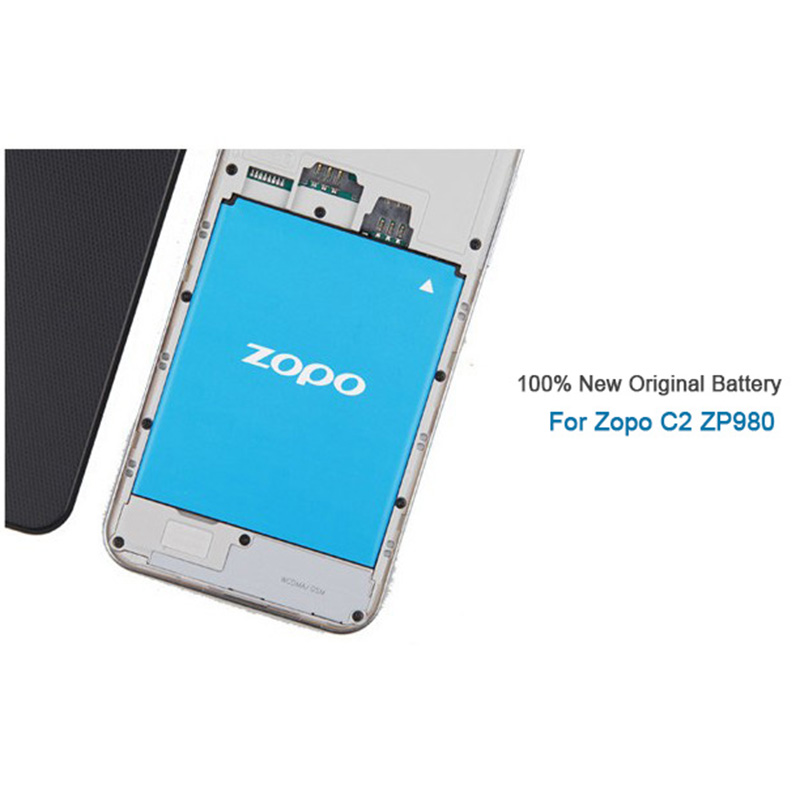 for zopo c2 zp980 battery 100 original 2000mah battery bt78s for zopo c2 zp980 c3 phone free. Black Bedroom Furniture Sets. Home Design Ideas